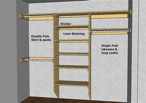 Diy Wood Closet Organizer by Best 25 Diy Closet Shelves Ideas On Closet
