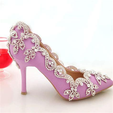 High Heel Wedding Shoes by Purple High Heel Wedding Shoes Www Pixshark Images