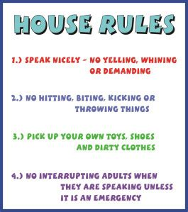 Establishing House Rules Into Another World   establishing house rules into another world