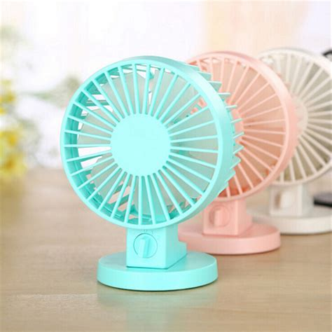 silent fans for home portable ultra quiet mini usb desk fan creative home