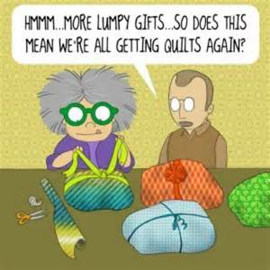 presents quilt jokes and sayings