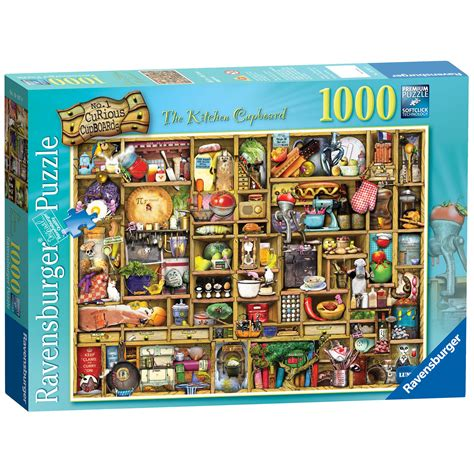 Kitchen Cabinet Creator by Ravensburger The Curious Kitchen Cupboard 1000pc Puzzle