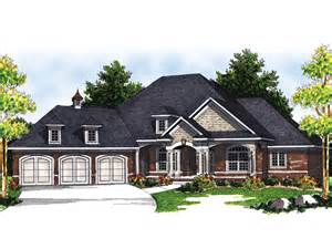 marmande luxury ranch style home plan 051s 0048 house - Luxury Ranch House Plans