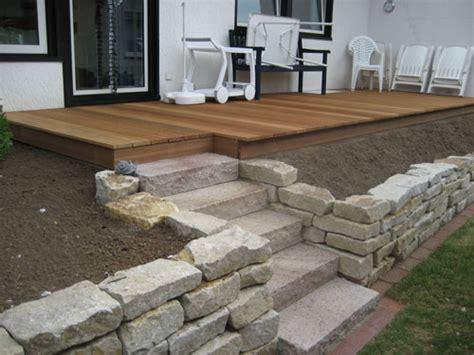 terrasse hang terrasse auf hang gronau dienstleistungen nowaday garden