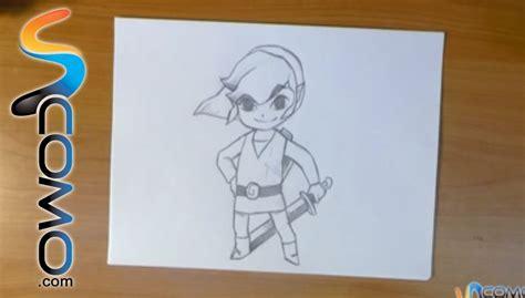 imagenes chidas y faciles para dibujar dibujar a link de zelda youtube