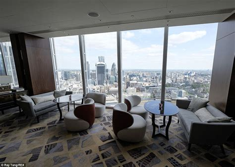 ting room shard s shangri la hotel opens one of highest swimming pools in the world daily mail