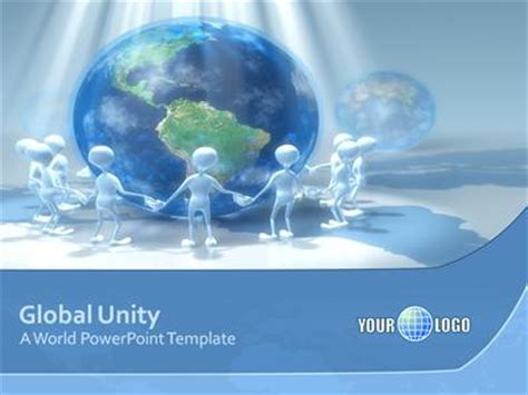 global unity a powerpoint template from presentermedia com