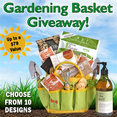 Gift Ideas For Gardeners Gardening Gift Basket Giveaway Up To A 79 Value Aa Gifts Baskets Idea