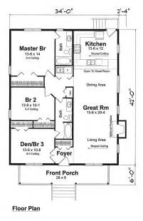 Narrow Cottage Plans by House Plan 74001 Cottage Narrow Lot