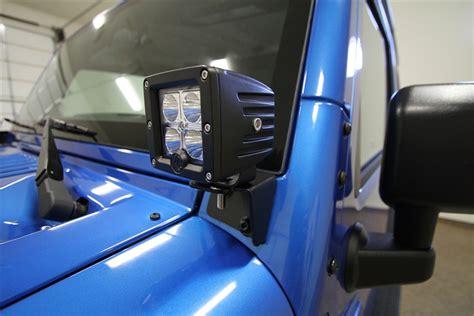 Jeep Jk Windshield Lights Rh6050 Rock 4x4 2007 2015 Jeep Jk Wrangler Windshield