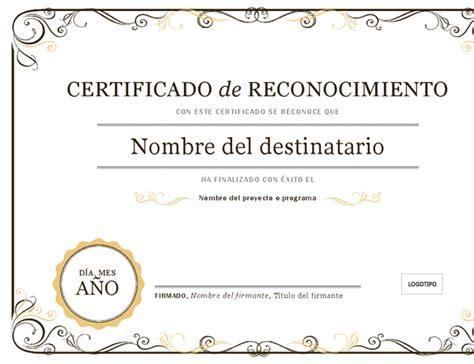 certificados de reconocimiento en blanco newhairstylesformen2014com certificados office com