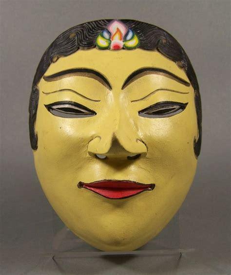 Masker Java wajang masker topeng java indonesi 235 tweede helft 20e eeuw catawiki