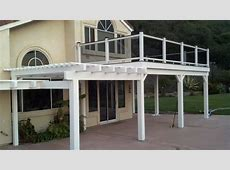 San Clemente, Patio Cover and Balcony with smoked glass ... Epatio Furniture