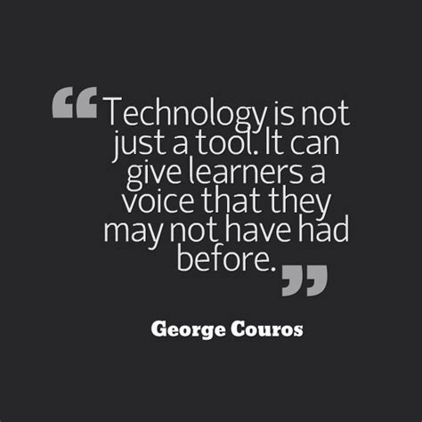 Not Just A by Technology Is Not Just A Tool It Can Give Learners A