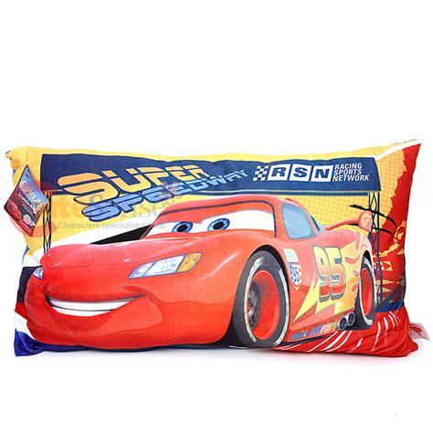 disney cars mcqueen supersoft pillow jumbo bedding