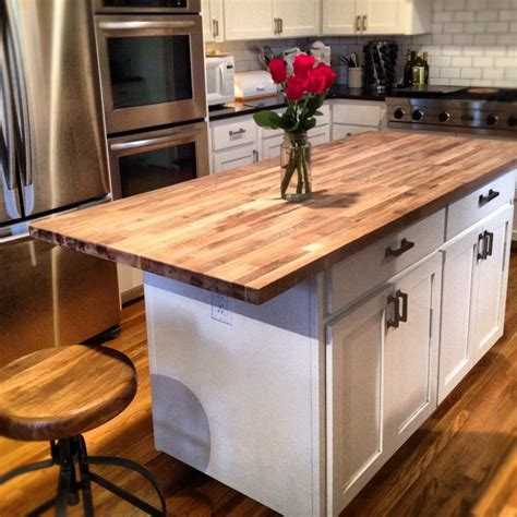 kitchen with butcher block island butcher block kitchen island material countertop of