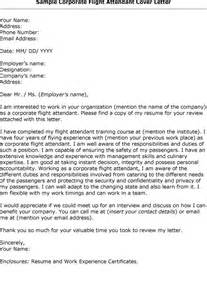 Bilingual Flight Attendant Cover Letter by Corporate Airline Flight Attendant Cover Letter Unemployment In Flight Attendant Resume Cover