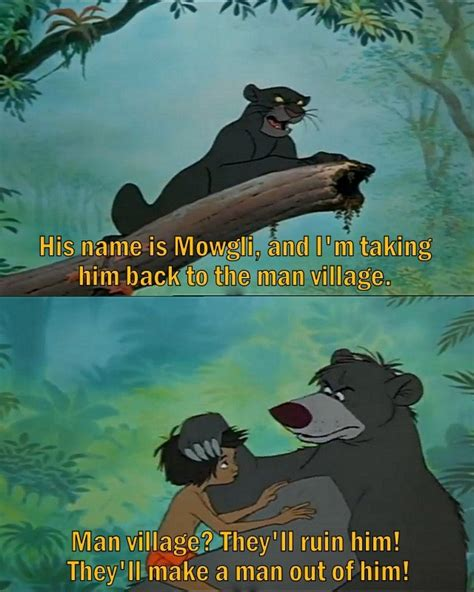 the best jungle the jungle book 1967 animated feature quotes