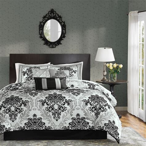 madison park connell 7 piece comforter set madison park larissa 7 piece comforter set contemporary