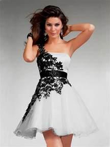 cute prom dresses short black 2016 2017 b2b fashion