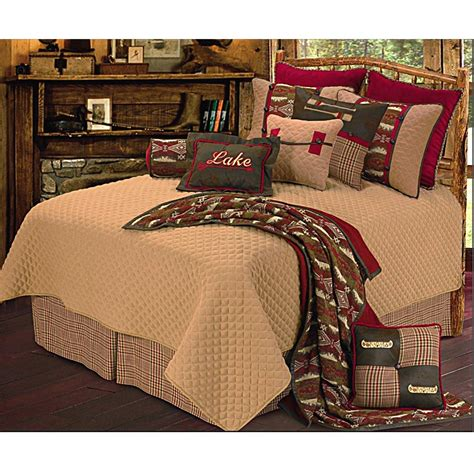 lodge bedding sets lodge bedding sets moose and bedding cabin lodge bed in