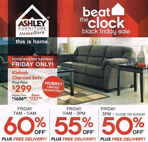 Ashley Furniture 2015 Black Friday Ad Black Friday