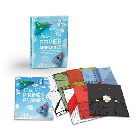 Fold And Fly Paper Planes Book - fold fly paper airplanes by zagaeski