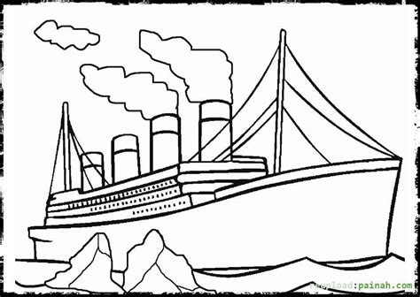 titanic coloring pages to print coloring home