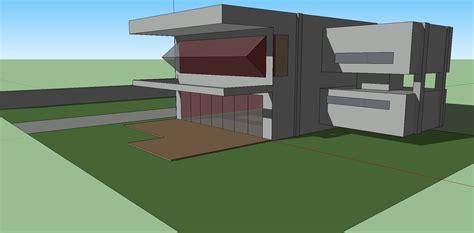 Modern House Door google sketchup huis house