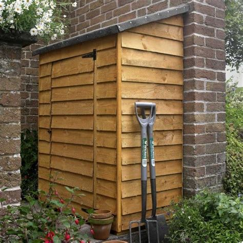 forest garden overlap garden wall store green mineral shed
