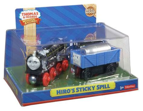 Fisher Price And Friend Seri Hiro fisher price friends wooden railway hiro s sticky spill walmart ca