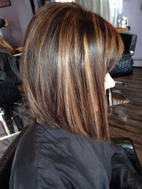 highlighted hair with brown underneath layered pictures 20 highlighted bob hairstyles bob hairstyles 2017