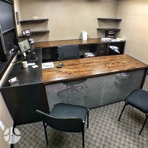 office furniture fargo nd more reclaimed wood floating desk woodworking beginner
