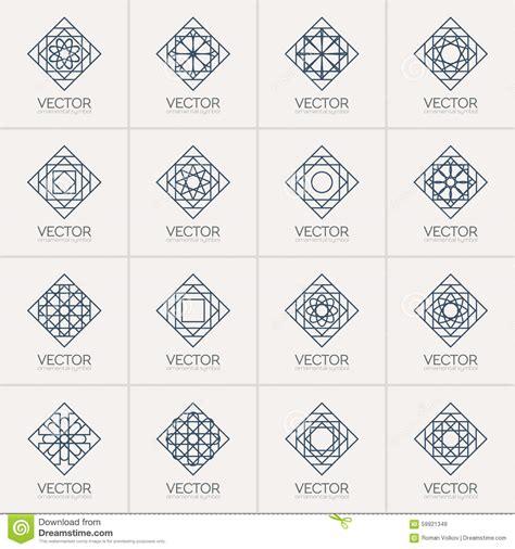 imagenes de simbolos geometricos s 237 mbolos geom 233 tricos do vetor ilustra 231 227 o do vetor imagem