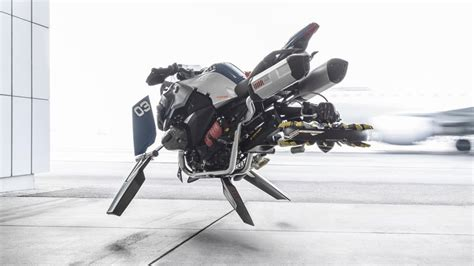 bmw designers   hover bike   lego  turned    life size replica