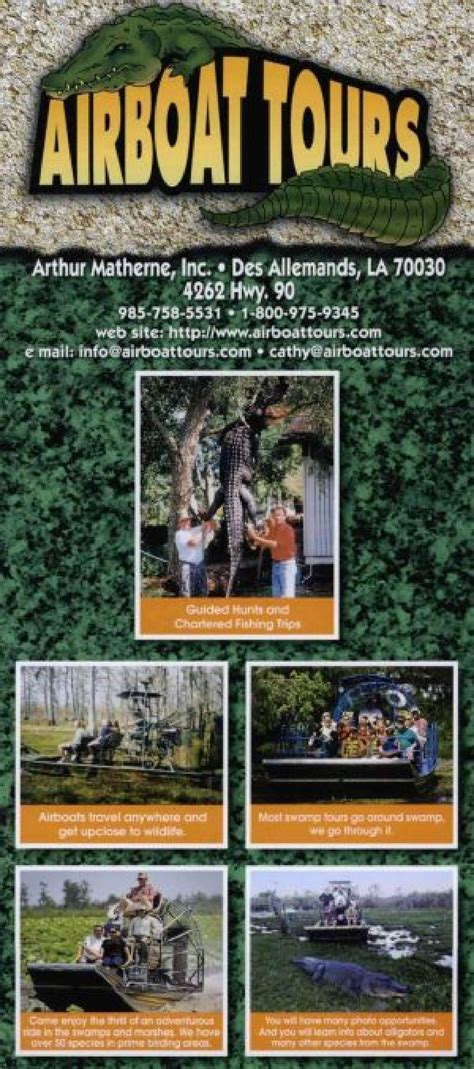 airboat tours by arthur matherne airboat tours by arthur matherne des allemands la