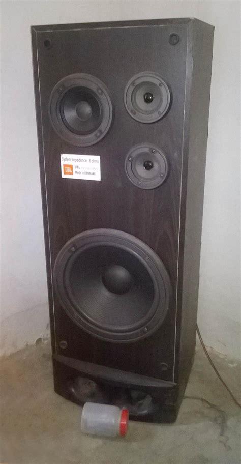Beberapa Speaker Vintage Jbl anyone can identify this jbl vintage tower speaker