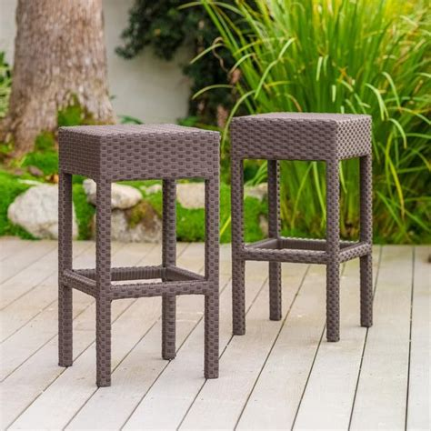 28 Inch Backless Bar Stools by Rudolfo 28 Inch Outdoor Backless Bar Stools Set Of 2