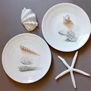 Seashell Dinner Plates Seashell Dinner Plates 10 Quot Porcelain From Tjcervantesart