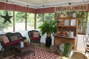 porch decorating ideas screen porch decorating screened porch love primitive decorating ideas for the home