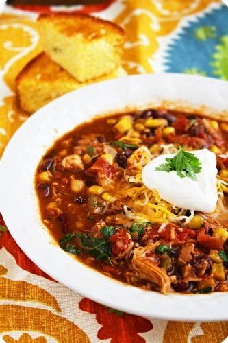 crock pot chicken chili recipe chicken taco chili only about 200 calories a serving and makes