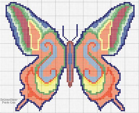 bordados rosas fasnta manualidades bordados de mariposa en punto de cruz