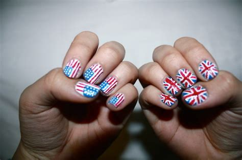 American Nails by America American Flag American Nails Blue Image