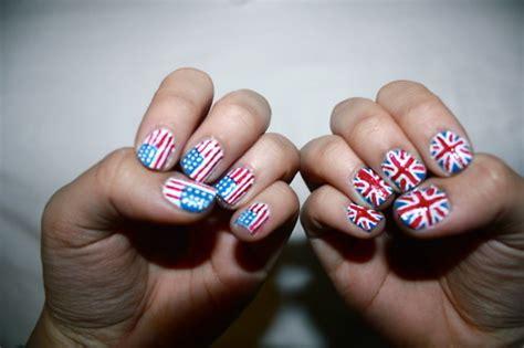american nails america american flag american nails blue image