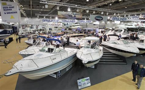 the boat show get on board with the latest in the world of water at the