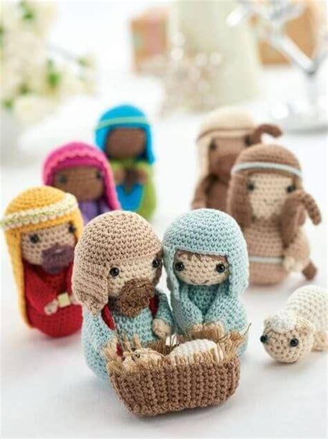 crochet pattern nativity scene 25 decorazioni natalizie all uncinetto e amigurumi ispirando