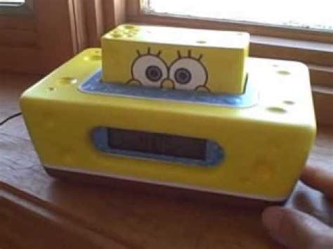 spongebob alarm clock