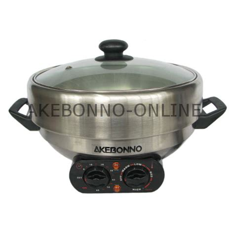 Rice Cooker Akebonno peralatan dapur akebonno 4 in 1 multi cooker