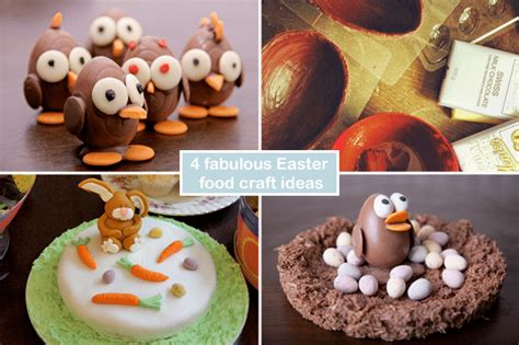food crafts ideas 4 fabulous easter food craft ideas a mummy