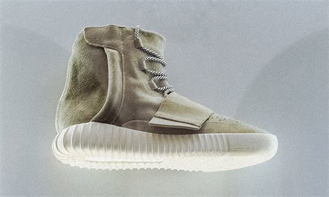 kanye new sneakers kanye west adidas yeezy 750 boost on display highsnobiety